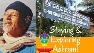 Shaktidarshan Yogashram Travel Experience Ashram Review Kinnigoli Mangalore Udupi Karnataka India