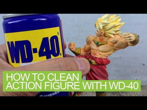 How to Clean Action Figure with WD-40