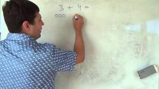 Математика 1 класс. 13 сентября. Сложение чисел  Часть 2