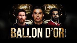 Ronaldo vs Messi vs Salah • Ballon D