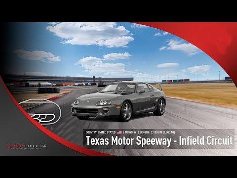 AMS | MOD-SERIES | Car Toyota Supra GZ 93 / 98 | Track Texas Motor Speedway | Infield Circuit