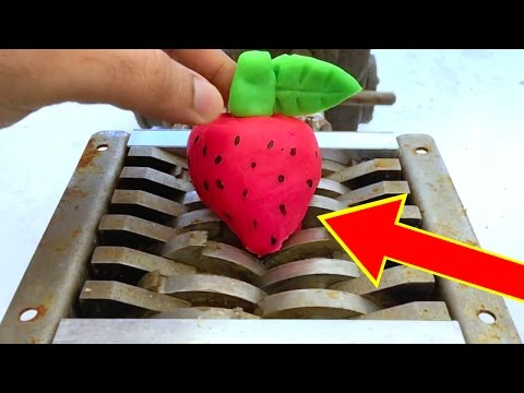 SHREDDING PLAY DOH FRUIT COMPILATION | shredding toys | shredding stuff