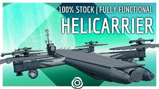 100% STOCK HELICARRIER to Laythe! | KSP 1.4.5
