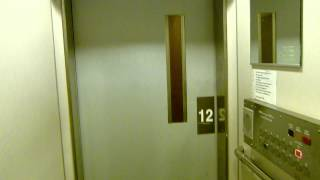 Large elevator in an apartment block in Stockholm