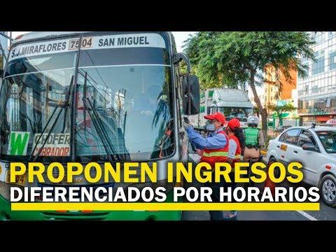 """Perú: El Transporte Público En El Regreso A """"la Nueva Normalidad"""""""
