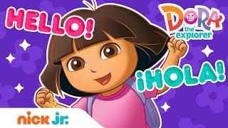 Speak Spanish w/ Dora the Explorer! | Dora and Friends | Nick Jr.