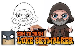 Star Wars | How to Draw Luke Skywalker (Art Tutorial)