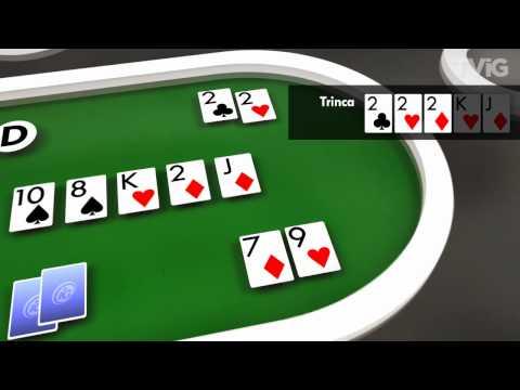 Dicas de Poker - Ranking dos jogos do Texas Hold´em