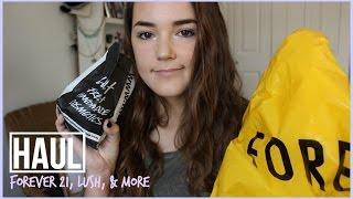 HAUL!! Forever 21, Lush, & More! | Reese Regan Thumbnail