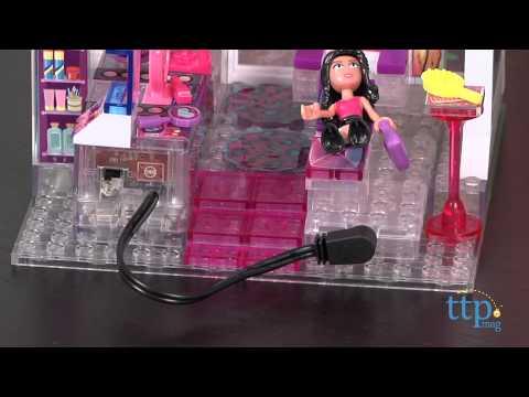 Lite Brix Lite Up Sparkle Salon from Cra-Z-Art - YouTube