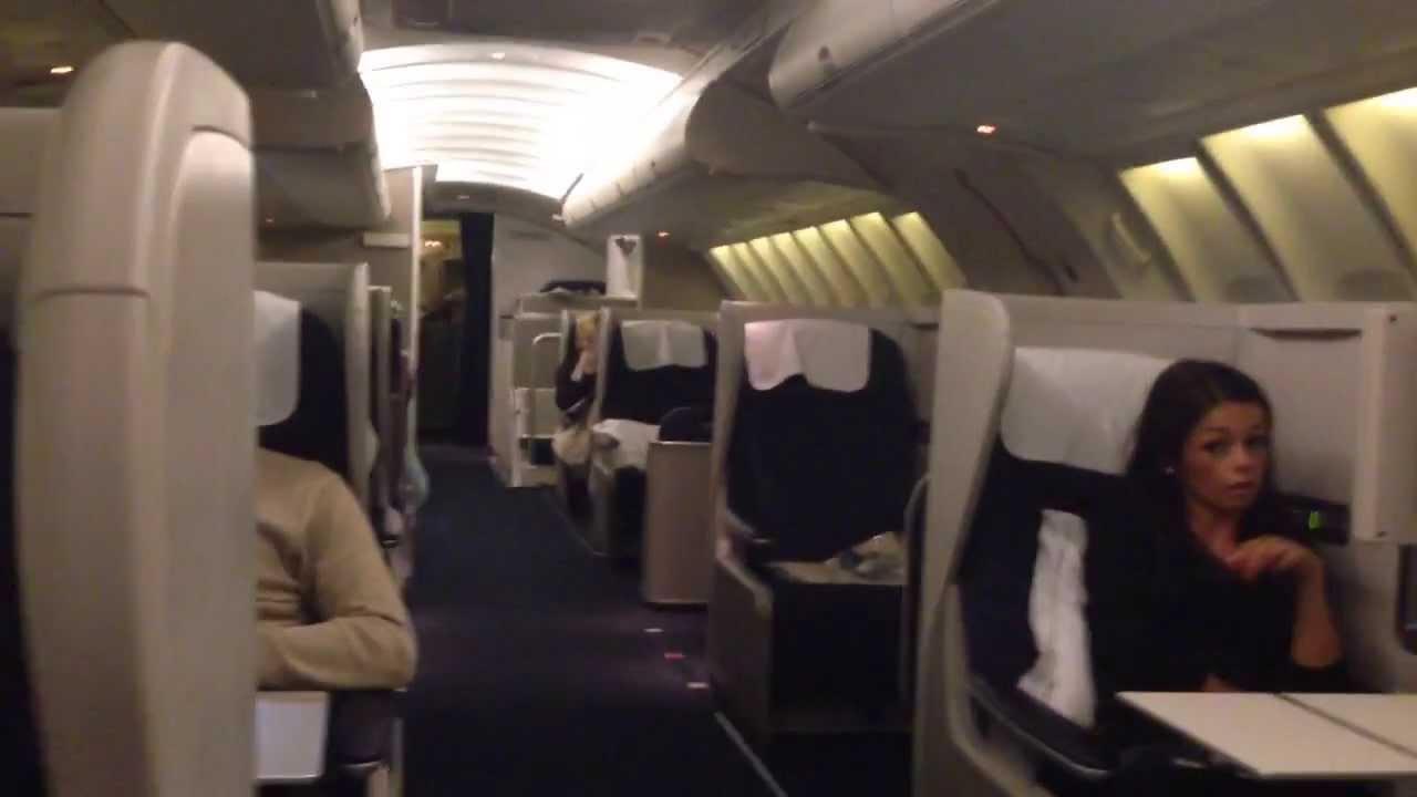 British Airways 747 Upper Deck Club World Youtube