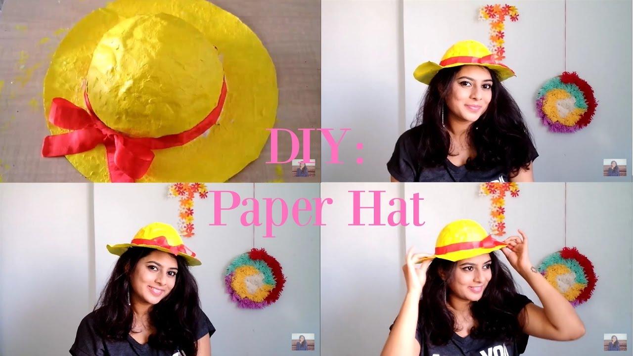 DIY  Paper Hat - YouTube ece0ee5502f