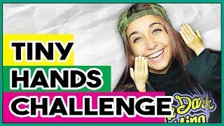 YOUTUBERS CON MANOS PEQUEÑAS | TINY HANDS CHALLENGE | PILO