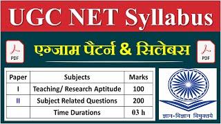 UGC NET Syllabus 2021 Paper 1| UGC NET Syllabus 2021 in Hindi