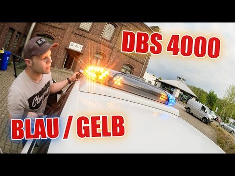Blaulicht / Gelblicht in einem :D  - DBS 4000 DualColor ! | ItsMarvin