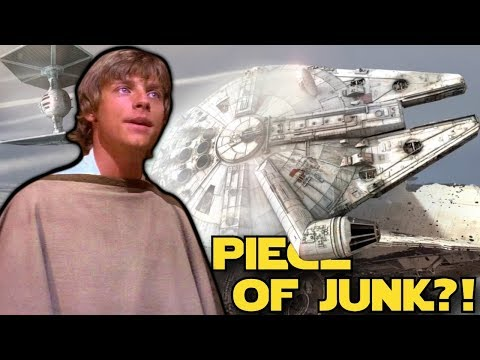 """Why Everyone Thinks the Millennium Falcon is a """"Piece of Junk"""""""