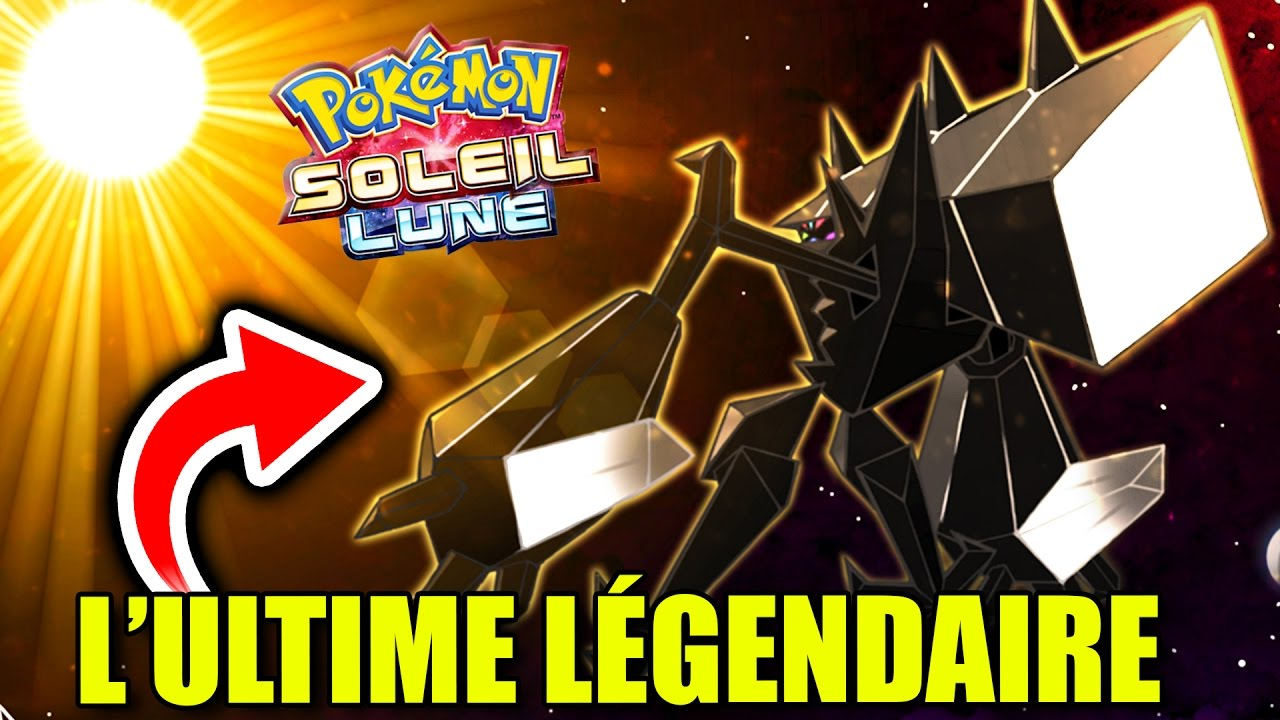 L 39 ultime l gendaire de pokemon soleil et lune youtube - Legendaire shiney ...