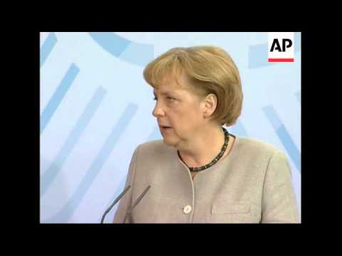 Merkel meets Saakashvili comments on Georgian-Russian conflict, NATO
