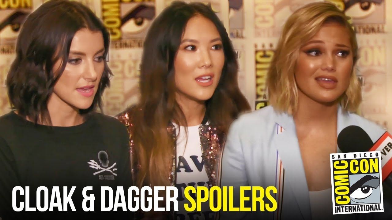 Cloak & Dagger Cast Discuss Season 1 Finale & Mayhem in S2 at Comic Con 2018