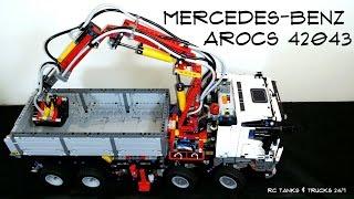Alternative Builds For Lego Technic Set 42043 Mercedes Benz Arocs