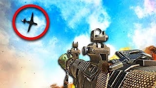 IMPOSSIBLE CALL OF DUTY CHALLENGE! - RPG vs UAV! (Black Ops 2 Funny)