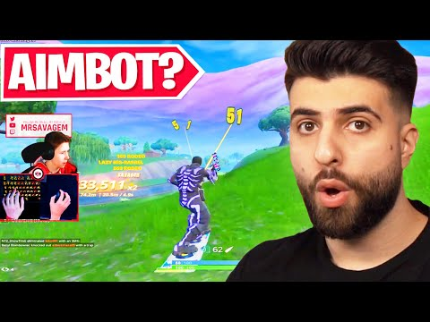 Reacting to the Best Aim in Fortnite History! - SypherPK