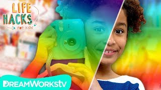 Polaroid Camera Hacks | LIFE HACKS FOR KIDS