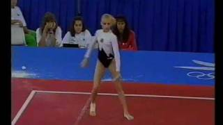 1992 Olympics - Gymnastics Event Finals Part 5