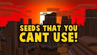 Minecraft Has 254 Hidden Seeds You Canand39t Use