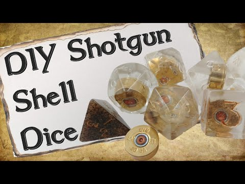 How to Make Your Own Dice Set | Shotgun Shell Dice