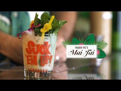 Accept no imitations—learn Trader Vic's original recipe for mai tai