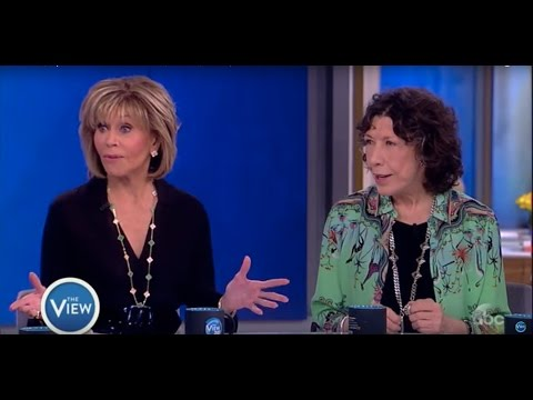 Jane Fonda, Lily Tomlin Talk 'Grace and Frankie,' Activism, & More ...