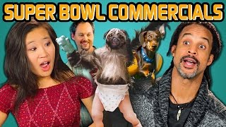 ADULTS REACT TO SUPER BOWL COMMERCIALS (2016)