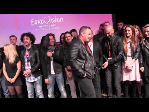 ESCKAZ in Amsterdam: Eurovision In Concert press presentation
