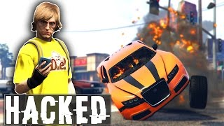 WATCH DOGS HACKING MOD! (GTA 5 Mods Funny Moments)