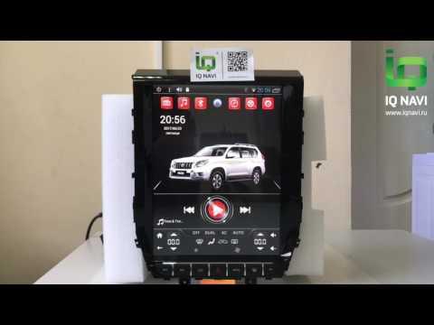 """Обзор магнитолы в стиле ТЕСЛА на Андроиде IQ NAVI T54-2921TS Toyota LC200 (2015+) 12,1"""" TESLA STYLE"""