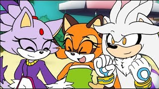 [Ep.28] Ask the Sonic Heroes - Team Dimension | ft. Silver, Blaze, Marine