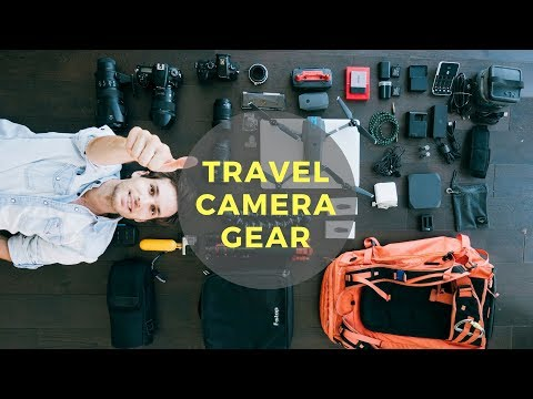 WHAT IS IN MY CAMERA TRAVEL BAG   Photo, video, vlogging, aerial ... 4K
