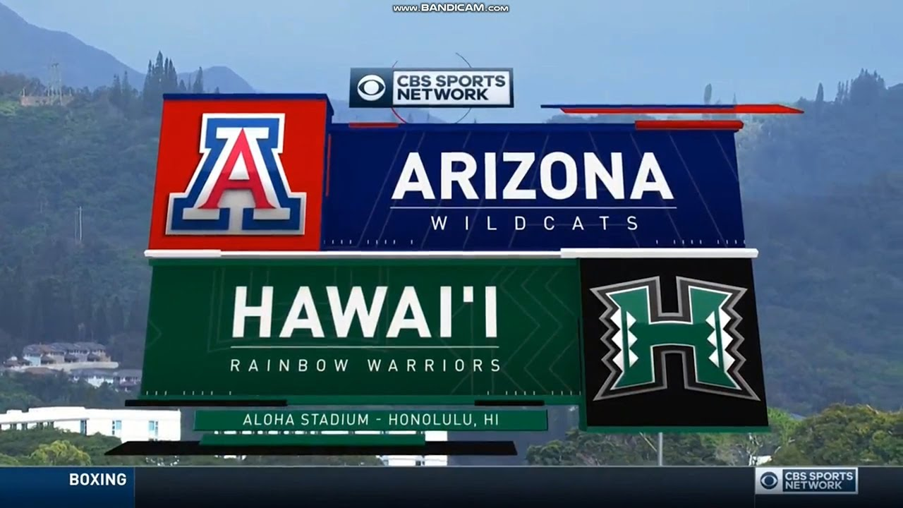 2019 College Football On Cbs Sports Network Intro Theme Youtube