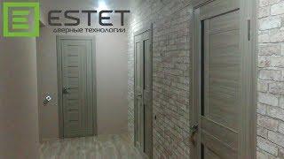 Установка шести дверей в Чебоксарах. Фабрика Estet