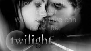 """The Bella Cullen Project """"Bella's lullaby"""" karaoke"""