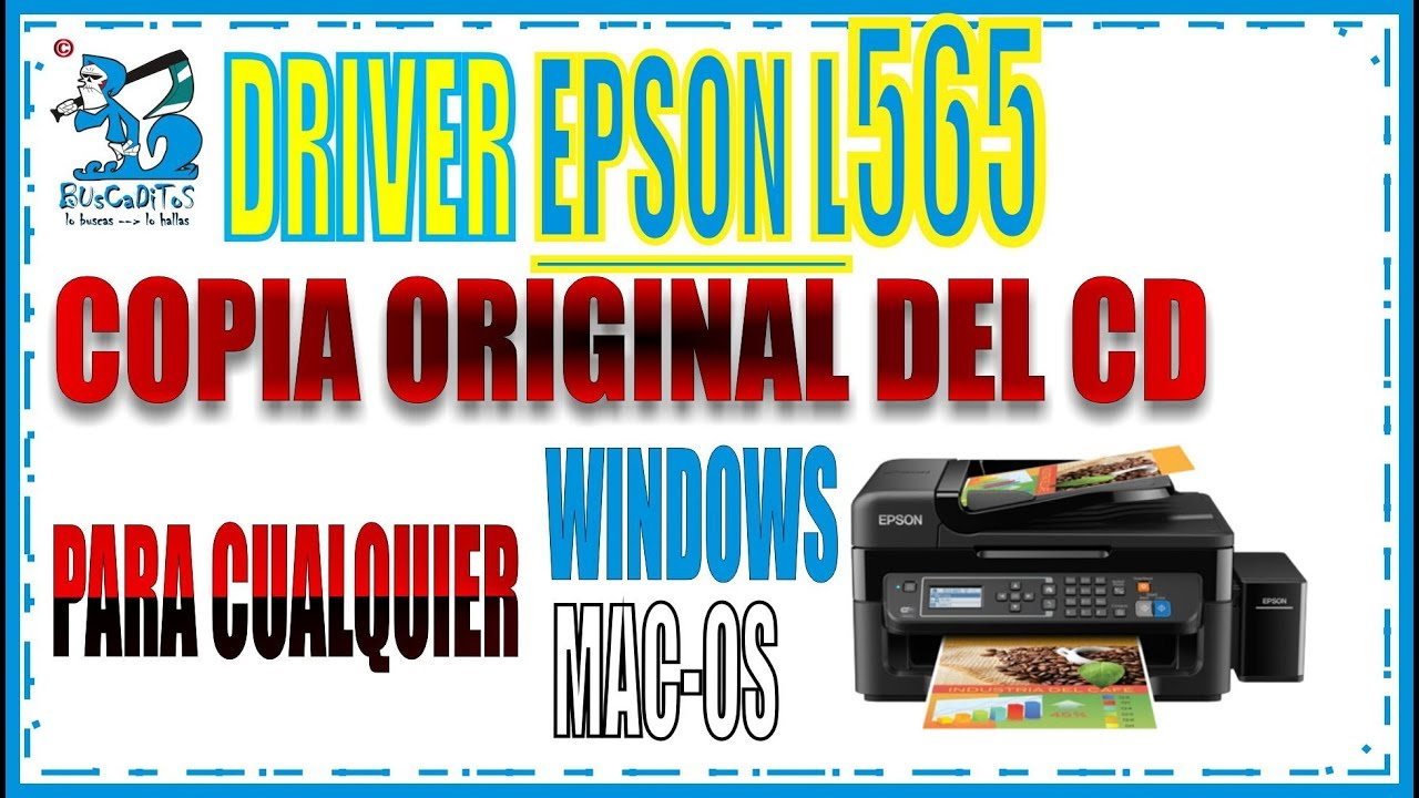 DRIVER CD 0RIGINAL EPSON L565 by BUsCaDiToS
