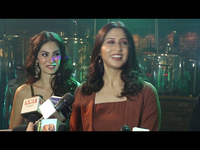 Bruna Abdullah, Hiten Tejwani, Kavita Tripathi, Dushyant Singh At Shoot Of Film Shatarnj