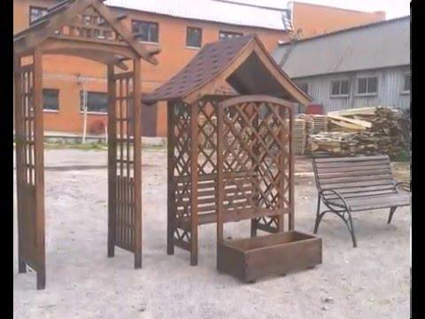 Производство садовой мебели и изделей из дерева в Виннице
