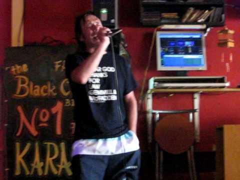 Monty Live Black Chicken Benidorm 2009 Youtube