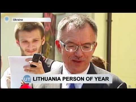 Lithuanian Ambassador to Ukraine Named 'Person of Year': Vaitiekunas showed 'diplomatic courage'