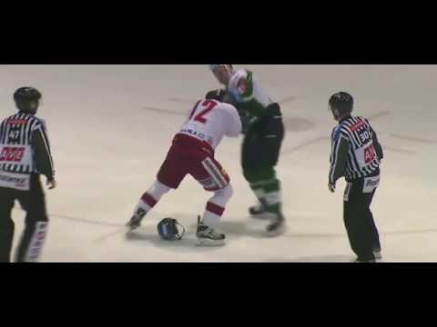 Bitka Henri Tuominen (Karlovy Vary) vs. Jan Knotek (Olomouc) - 29.1.2017