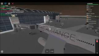 ROBLOX Air Canada Rouge Flight (Star Alliance Livery) Part 2