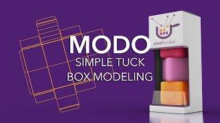 Modo Simple Tuck Box Packaging