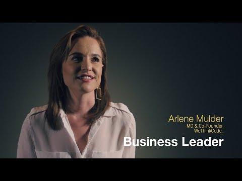 The Arlene Mulder business leadership journey